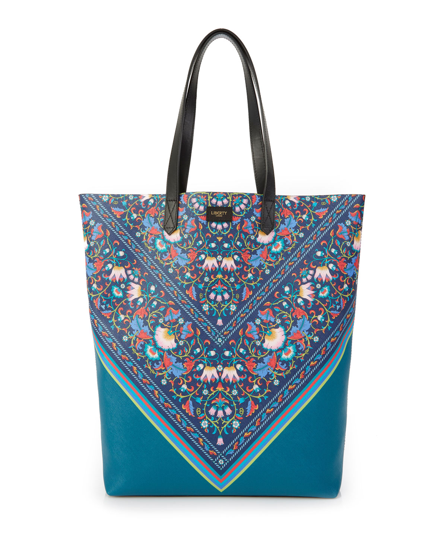 Lodden Chevron Floral Tote Bag