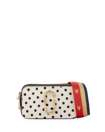 Marc Jacobs Snapshot Polka - dot Camera Bag, White Multipattern