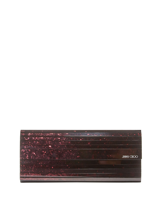 Sweetie Glitter Acrylic Clutch Bag