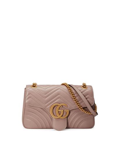 7d753e3f43b2 Quick Look. Gucci · GG Marmont Medium Leather Shoulder Bag