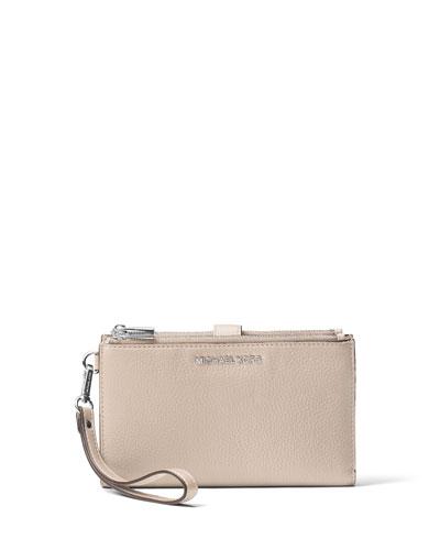 Adele Double-Zip iPhone® 7+ Wristlet Wallet