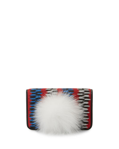 Ginny Bunny Pompom Shoulder Bag, Multi