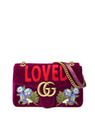 GG Marmont Small Loved Shoulder Bag, Fuchsia