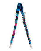 Braided Cord Shoulder Strap, Blue
