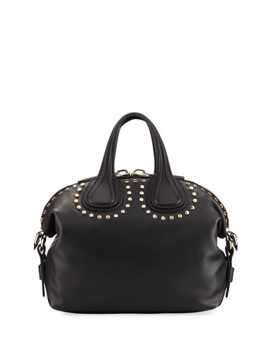Nightingale Small Studded Satchel Bag