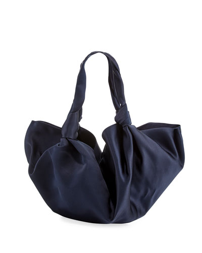 The Ascot Medium Silk Handbag