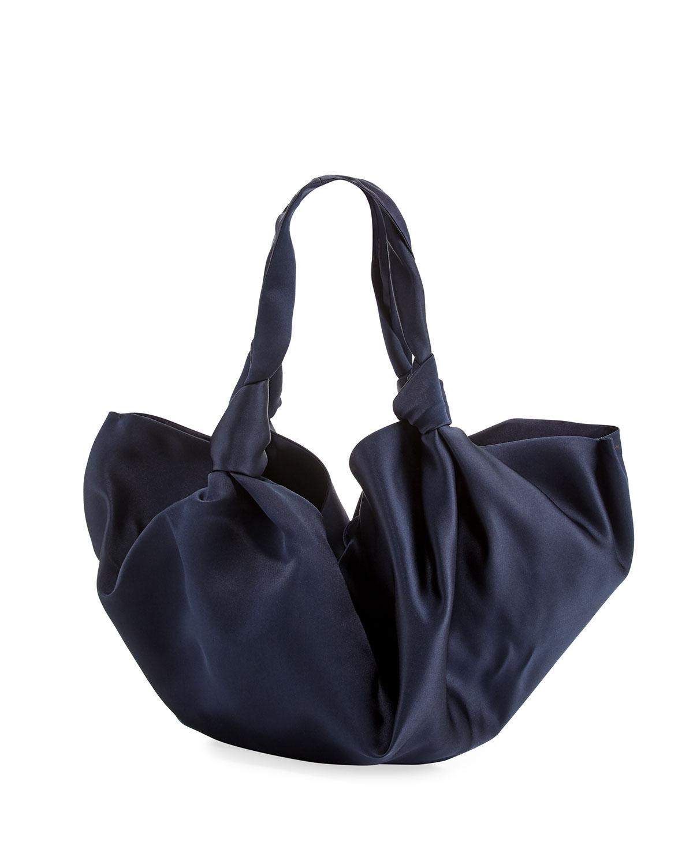 The Ascot Medium Silk Handbag