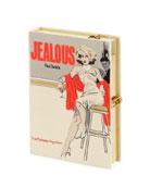 Jealous Book Clutch Bag