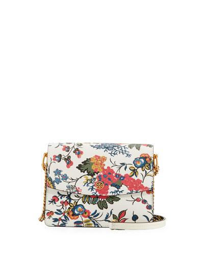 Parker Floral Convertible Shoulder Bag, Gabriella Floral