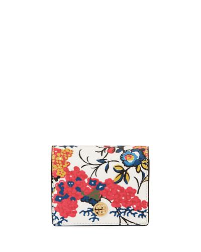 Parker Floral Mini Wallet