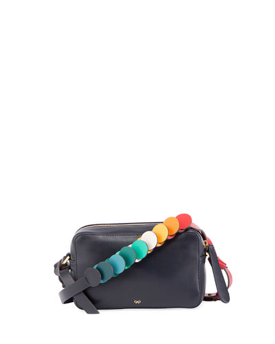 Mini Circle Crossbody Bag, Multi