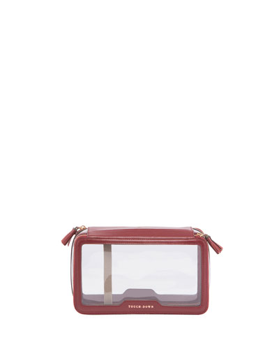 In-Flight Travel Cosmetics Case, Maroon