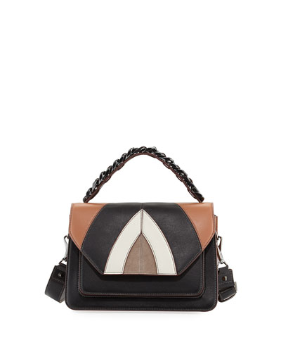 Eclipse Medium Colorblock Shoulder Bag