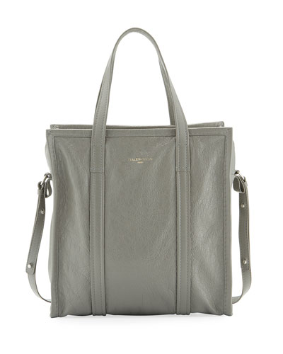 Bazar Shopper Small Tote Bag, Gray