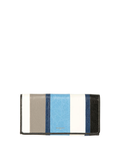 Bazar Money Striped Wallet, Multi