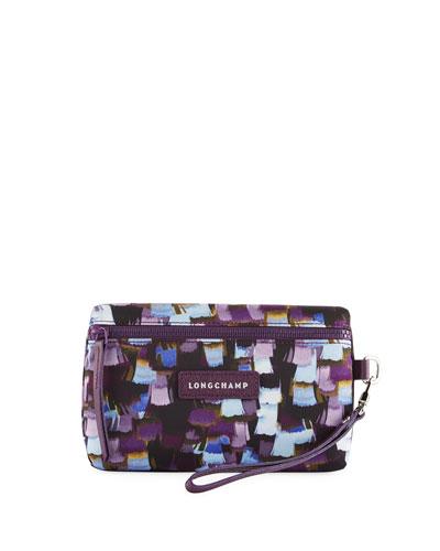 Le Pliage Neo Vibration Cosmetics Bag, Deep Purple