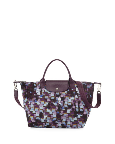 Le Pliage Neo Vibration Medium Tote Bag with Strap