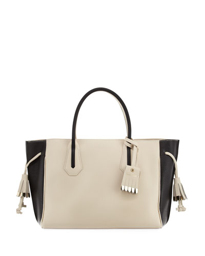 Penelope Medium Colorblock Tote Bag