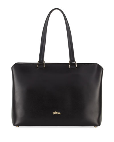 Honore 404 Smooth Leather Shoulder Tote Bag