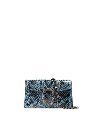 Dionysus Snakeskin Super Mini Bag