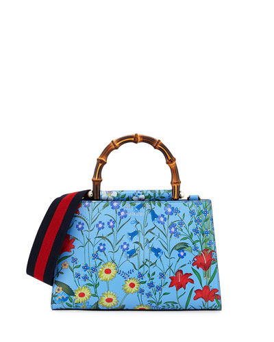 Nymphaea Small Flora Top-Handle Bag