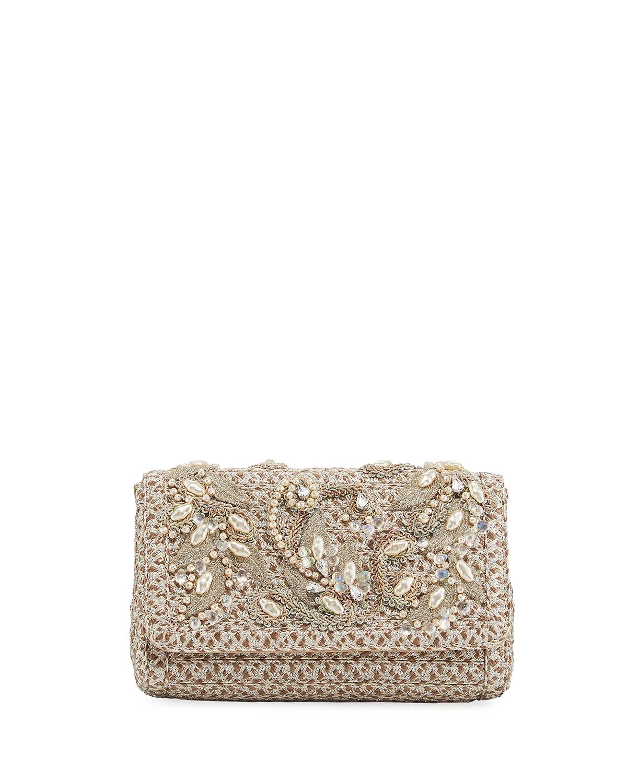 Devina Embellished Small Clutch Bag