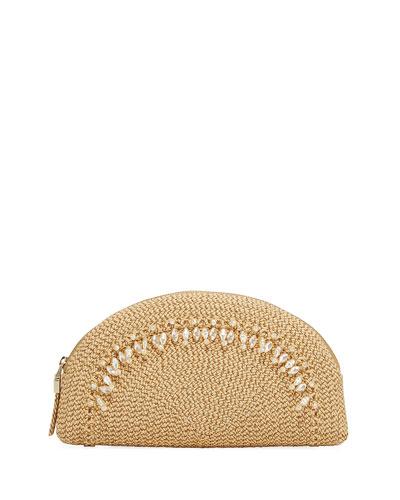 Pearl Embellished Clutch Bag