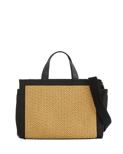 Bancroft Large Straw Tote Bag