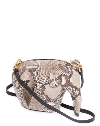 Python Elephant Mini Bag