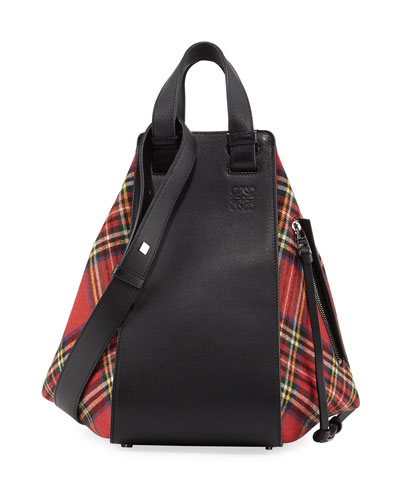 Hammock Small Tartan Convertible Bag