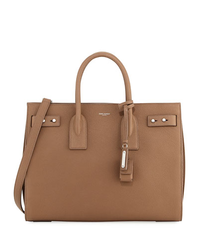 Sac de Jour Small Topstitched Tote Bag