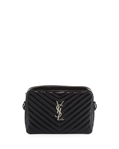 Loulou Monogram Medium Quilted Crossbody Bag