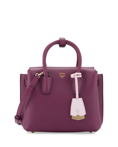 Milla Mini Leather Tote Bag