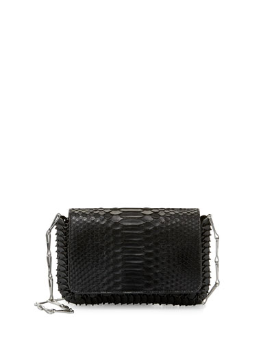 14#01 Small Python Shoulder Bag