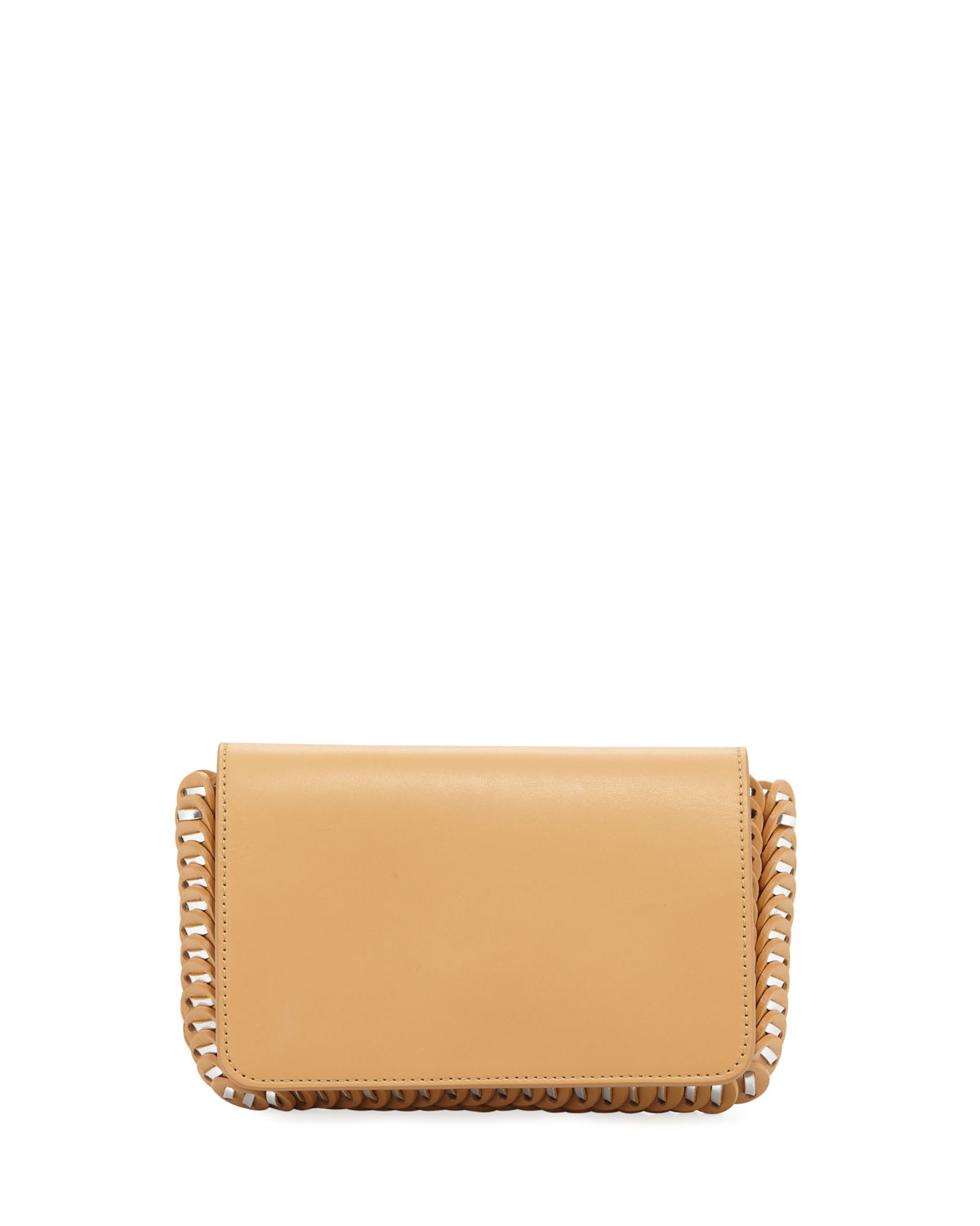 Classic Link Mini Shoulder Bag, Beige