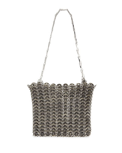 Iconic Acier Metal Shoulder Bag