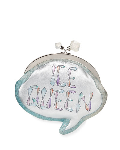 Ice Queen Speech Bubble Clutch Bag