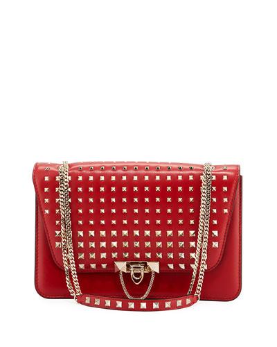 Demilune Vitello Lux Shoulder Bag