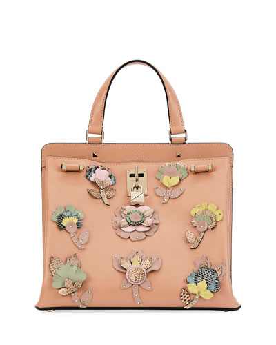 Joylock Medium Vitello Lux Satchel Bag