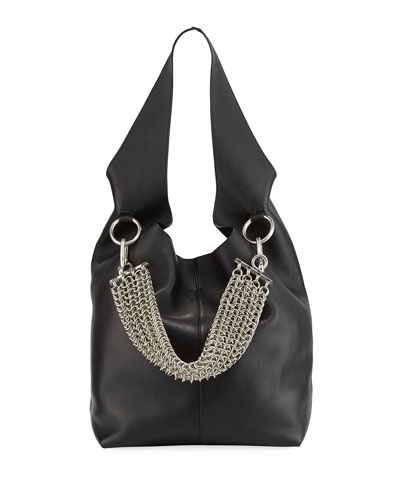 Black Suede Hobo Bag | Neiman Marcus