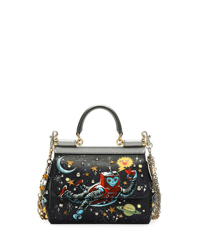 Sicily Small Robot Satchel Bag