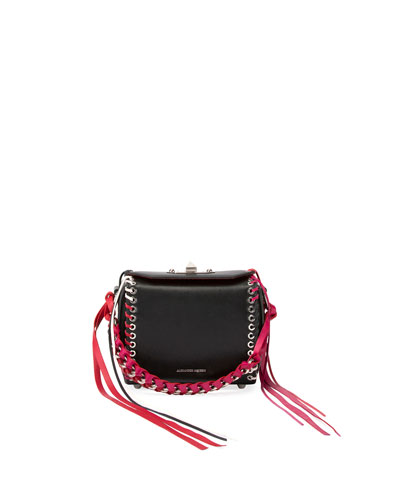 Box 16 Lace-Up Leather Bag