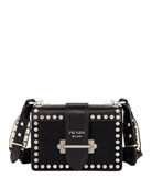 Cahier Small Calf Hair Shoulder Bag