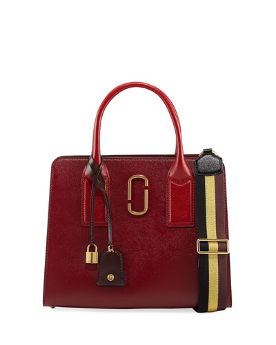 Big Shot Saffiano Leather Tote Bag