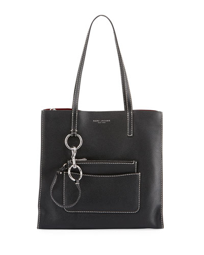 The Bold Grind Pebbled Shopper Tote Bag