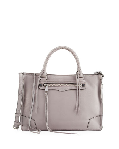 Regan Pebbled Satchel Bag