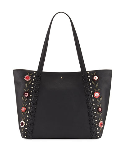 madison daniels drive embellished tote bag