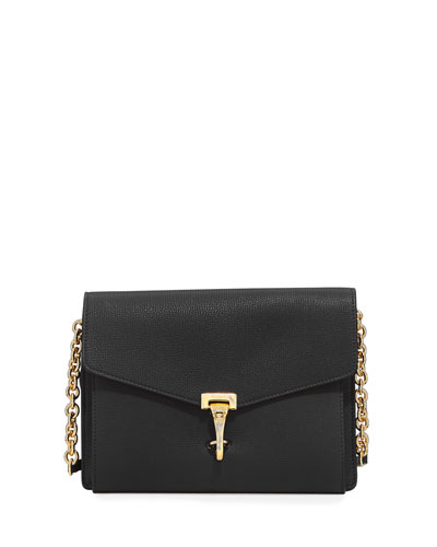 Macken Small Derby Leather Crossbody Bag