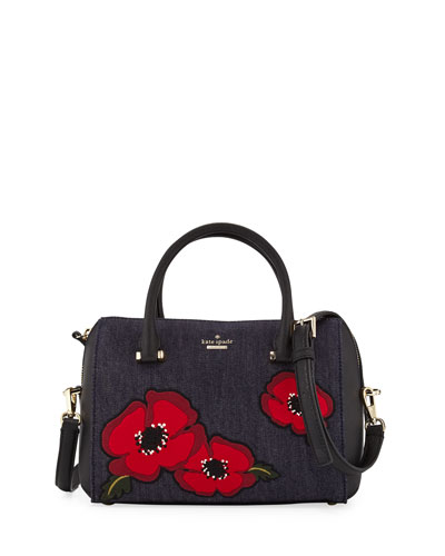 cameron street poppy large lane satchel bag