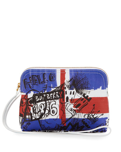 Union Jack Sketchbook Series Pouch Bag